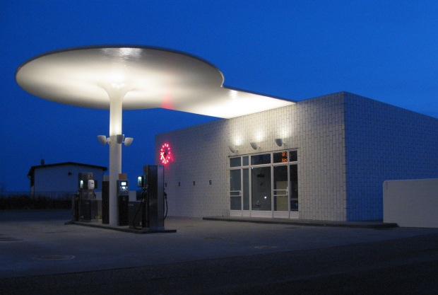 Skovshoved Petrol Station, Denmark, 1936 | Image courtesy of Christian Lylloff